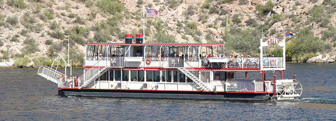 Desert Hike and Canyon Lake Tour