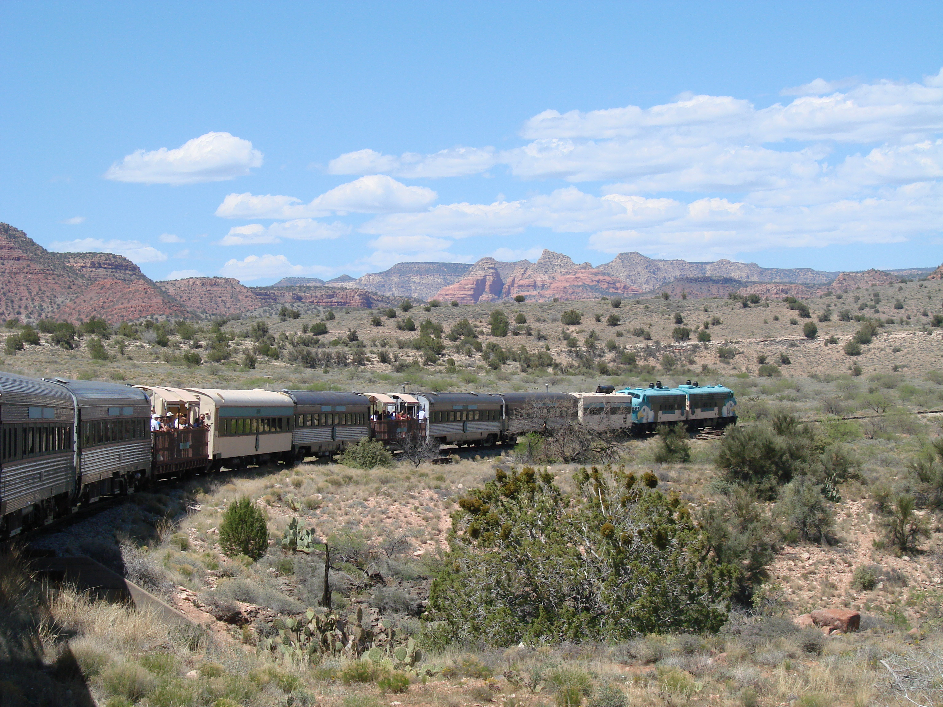 Jerome Verde Canyon Railroad Tour